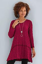Pucker Crescent Tunic by Noblu   (Knit Tunic)