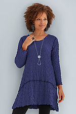 Pucker Crescent Tunic by Noblu   (Knit Tunic)