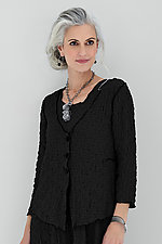 Esmee Pucker Cardigan by Noblu   (Knit Jacket)
