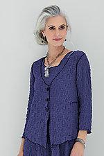 Esmee Pucker Cardigan by Noblu   (Knit Jacket)