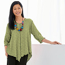 Pucker Bonita Top by Noblu   (Knit Top)