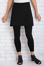 Travel Knit Skirted Cropped Leggings by F.H. Clothing Co.  (Knit Leggings)