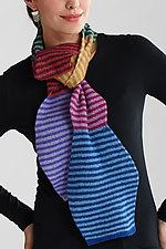 Blended Scarf by Kristin Gereau  (Silk and Wool Scarf)
