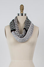 Chevron Infinity Scarf by Kristin Gereau  (Bamboo Scarf)