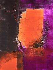 Luminous Series V by Sandra Humphries (Monotype Print)