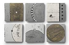 Epic Journey Tiles by Rhonda Cearlock (Ceramic Wall Sculpture)