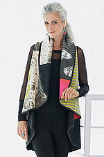 Montage Circle Vest by Andrea Geer (Woven Vest)
