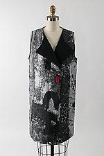 Long Reversible Vest by Andrea Geer (Woven Vest)