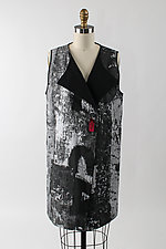 Long Reversible Vest by Andrea Geer (Woven Vest)