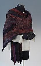 Arashi Silk Shawl by Anne Vincent  (Silk Shawl)