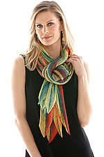 Arashi Shawl in Protea by Anne Vincent  (Silk Scarf)