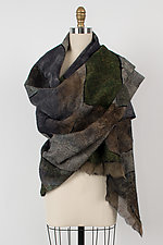 Nuno-Felted Wrap by Anne Vincent  (Silk and Wool Wrap)