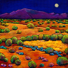 Midnight Sagebrush by Johnathan  Harris (Giclee Print)