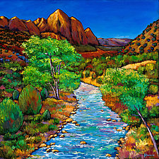 Zion by Johnathan  Harris (Giclee Print)