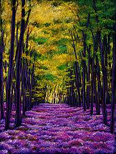 Violet Vista by Johnathan  Harris (Giclee Print)