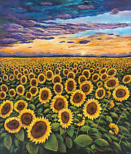 Sunset Starburst by Johnathan  Harris (Giclee Print)