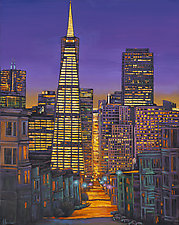 San Francisco by Johnathan  Harris (Giclee Print)