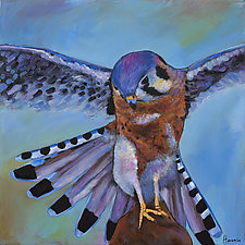 Kestrel by Johnathan  Harris (Acrylic Painting)