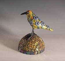 Amber by Patty Carmody Smith (Mixed-Media Sculpture)