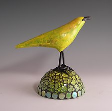 Lemon Lime by Patty Carmody Smith (Mixed-Media Sculpture)