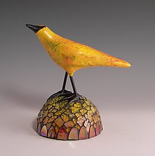 Butterscotch by Patty Carmody Smith (Mixed-Media Sculpture)