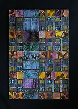Wonder Weave by Patty Carmody Smith (Mixed-Media Wall Sculpture)