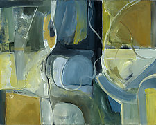 Of Weights and Proportions by Carole Guthrie (Acrylic Painting)