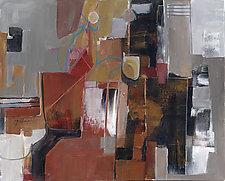 Neighborhood by Carole Guthrie (Acrylic Painting)