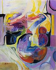 Global Mystery by Carole Guthrie (Acrylic Painting)