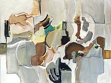 Gray Harmony by Carole Guthrie (Acrylic Painting & Giclee Print)