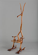 Guardian Chair No.5 by Charles Adams (Wood Chair)