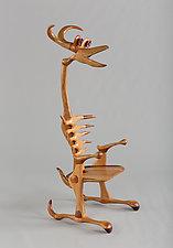 Guardian Chair 2 by Charles Adams (Wood Chair)