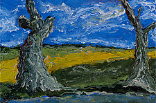 Camargue No. 3 by Jonathan Herbert (Oil Painting)