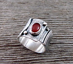 Realm Band by Delias Thompson (Silver & Stone Ring)