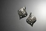 Tacinga Earrings by Sooyoung Kim (Silver & Pearl Earrings)
