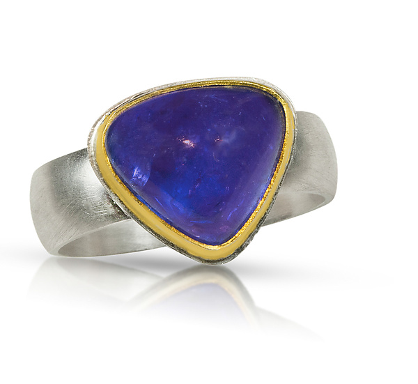 Heart Tanzanite Ring