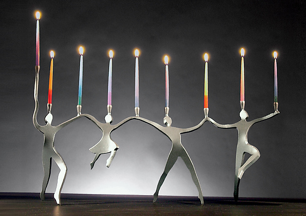 Line Dancing Menorah