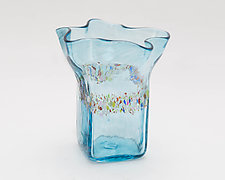 Ruffled Glass by Bryan Goldenberg (Art Glass Drinkware)