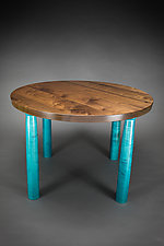Circle Table by Todd  Bradlee (Wood Dining Table)