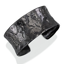 Ancient Cuff by Kendra Renee (Silver Bracelet)