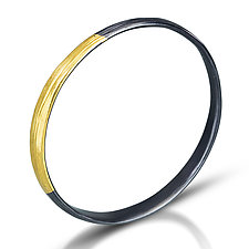 Midas Bangle by Kendra Renee (Gold & Silver Bracelet)