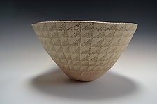 Modified Checker Bowl by Vaughan Nelson (Ceramic Bowl)