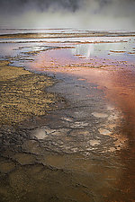 Middle Geyser Three by Geri Brown (Color Photograph)