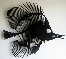 Fish I by Paul Arsenault (Metal Wall Sculpture)