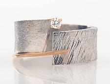Forever 3 Ring by Dagmara Costello (Silver & Stone Ring)