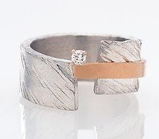 Balancing Ring by Dagmara Costello (Silver & Stone Ring)