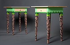 Modern Night Stand by Reid Anderson (Wood Side Table)