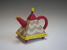 Deco Teapot by Vaughan Nelson (Ceramic Teapot)