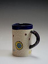 Circle Circle Mug by Vaughan Nelson (Ceramic Mug)