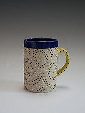 Circle Mug by Vaughan Nelson (Ceramic Mug)